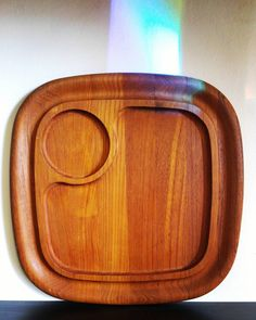 Dansk IHQ Jens Quistgaard teak sevice tray. #inspiration. #midcentury. #teak. #vintageforsale