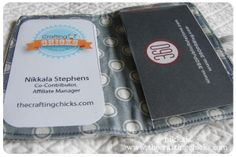 business card wallet!