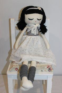 Astrid  A handmade Heirloom Susie Doll by ClaireLeblondDesign