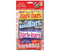 Bark Bars 4Pack Peghanging Bag Cookie Bars Pet Treat Assorted Flavor ** Learn more by visiting the image link.