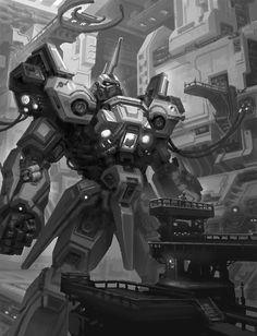 ArtStation - Robot, Xiaosheng Bai