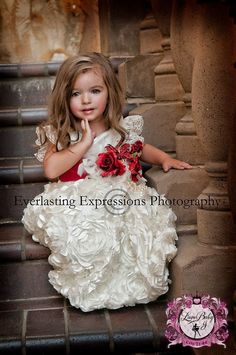 """""""An Eternal Promise""""... A Satin Dress For Your Little Lady 18 months – Love Baby J"""
