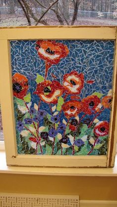 This post is by special request. How to make stained glass mosaic windows. I first saw the technique on HGTV about eight years ago. ...