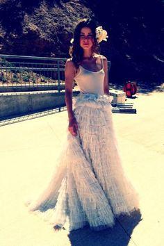 Lena Meyer-Landrut beim Videodreh in Spanien