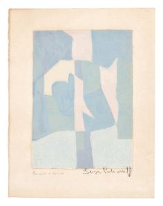 View Komposition in Blau, Rosa und Grau (composition in blue, pink and grey) By Serge Poliakoff; Access more artwork lots and estimated & realized auction prices on MutualArt. Oeuvre D'art, Les Oeuvres, Art Inspo, New Art, Illustration Art, Illustrations, Collage Art, Art Drawings, Art Photography