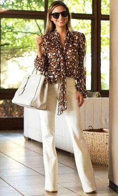 Como vestir elegante y juvenil mujer Style Casual, Work Casual, Casual Looks, Look Office, Office Looks, Elegante Y Chic, Moda Fashion, Womens Fashion, Moda Chic