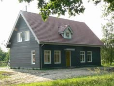 Prefab Cottages, Bungalow Exterior, Log Homes, Fixer Upper, Tiny House, House Plans, Sweet Home, Home And Garden, Outdoor Structures