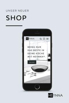 Wie du sicher schon bemerkt hast, legen wir bei unseren HEYNNA® Produkten nicht nur wert auf höchste Qualität, sondern auch auf die innovativen Designs.   Deshalb haben wir in den letzten Wochen all unsere Energie in die Entwicklung eines neuen Shops gesteckt! Damit du unsere Produkte genau so entdeckst, wie wir sie uns vorstellen! 😊 Designs, Shops, German Cuisine, Products, Kochen, Tents, Retail