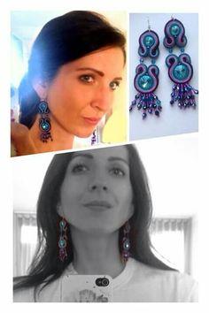 Handmade ZuzDesign soutache earings More Fun, Jewelery, Chokers, Earrings, Handmade, Fashion, Jewlery, Ear Rings, Moda