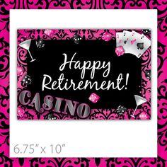 Casino Party Sign . PRINTABLE . Casino Crush . Happy Retirement . INSTANT Download ~ $6.00 ~ printable casino sign, printable casino, casino party sign, casino theme sign, printable sign, casino theme, casino party, casino night party, casino sign, girls casino sign, bachelorette sign, casino party printables, do it yourself casino, pink casino sign, modern casino sign ~ #casinoideas #casinoparty #casinosign ~ https://www.etsy.com/listing/190982798