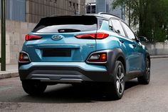 The new subcompact crossover SUV 2019 Hyundai Kona with its cool and styling design will be for sure the good-looking vehicle. Furthermore, the company is planning to expand its entire SUV and crossover line by Kona Hyundai, New Hyundai, Hyundai Suv, Peugeot 2008, Volkswagen, Bikini For Curves, Nissan Juke, Hyundai Genesis, Skateboards