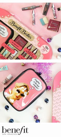 It has landed, Benebabes! Get your hands on the Benefit Besties selection box exclusively at Boots UK for just £30 (worth £60) while stocks last! Get yours here: bit.ly/BenefitBesties