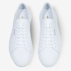AXEL ARIGATO - Shop sneakers, ready-to-wear and accessories for women & men. Minimalist Dresses, Minimalist Shoes, Minimalist Design, Smooth Leather, White Leather, Axel Arigato, White Sneakers, Designer Shoes, Me Too Shoes