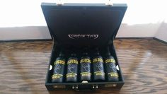 ContortioN & the COLDCOCK Whiskey briefcase! #TakeYourShot http://www.coldcockwhiskey.com #COLDCOCK #BIZBoost
