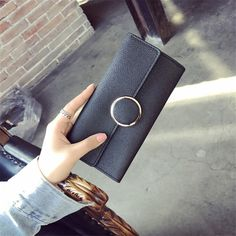 Purse Wallet Black Composite 2 PCS/Set Female Famous Brand Card Holders Sac a Main High Quality Gifts For Women Money Bag Clutch Famous Brands, Card Holders, Purse Wallet, Women's Bags, Evening Bags, Gifts For Women, Slot, Wallets, Backpack