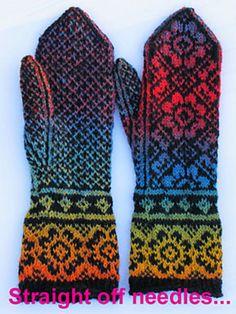 Ravelry: EowynMacGeek's NorLi mittens
