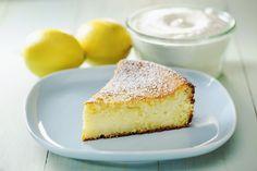ricottas-citromos-kevert-suti Ricotta Cheesecake, Ricotta Cake, Cheesecake Recipes, Dessert Recipes, Low Fat Desserts, Baked Ricotta, Japanese Cheesecake, Lemon Yogurt, Homemade Yogurt