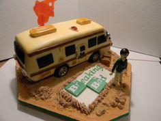 Breaking Bad Cake.