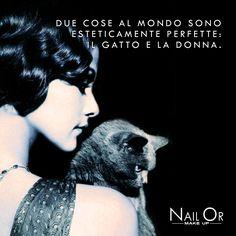 Nail Or #makeup #quotes #woman #cat