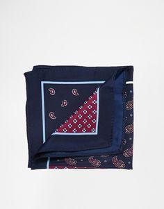 Einstecktuch von ASOS leichtes Material vierfaches Design Chemisch reinigen 100% Polyester Maße: 29 cm/11 x 29 cm/11 . . . . . der Blog für den Gentleman - www.thegentlemanclub.de/blog