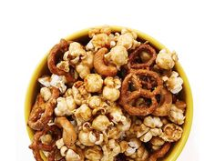 Pops' Great Caramel Corn (this stuff is a finalist in the annual popcorn festival in Marion, OH)
