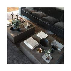 Interior Design by #louiseliljencrantzdesign Coffee tables by #louiseliljencrantzdesign #liljencrantzdesign