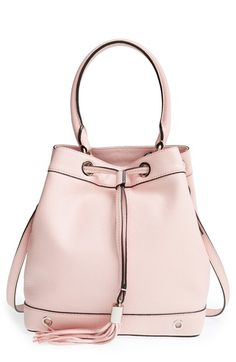 Milly 'Astor' Pebbled Leather Bucket Bag.......