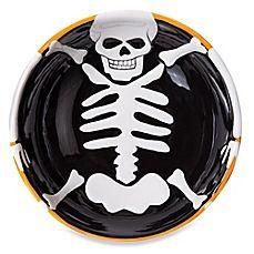 image of Ceramic Skeleton Bowl