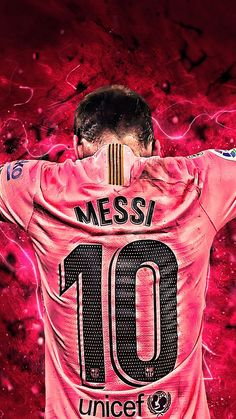 Messi 10 Art Graphics 4K Ultra HD Mobile Wallpaper. #messi