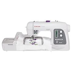 SINGER Futura XL-550 Computerized Sewing and Embroidery Machine with 18.5-by-11-Inch Multihoop Capability including 2 Hoops, 215 Stitches, 125 Embroidery Designs, 20 Monogramming Fonts. Rating 3.5/5 stars,  431 customer reviews