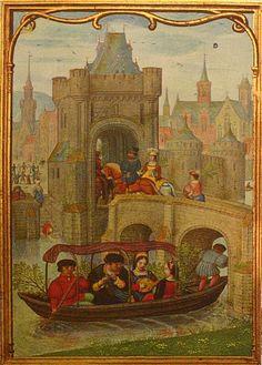 Hennessy getijdenboek, Koninklijke Bibliotheek België, Kalenderblad van de maand Mei. Simon Bening, c.1530.