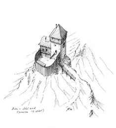 D House, Castle House, Fantasy Castle, Medieval Fantasy, Ottonian, Small Castles, Minecraft Blueprints, Dnd Art, Dungeon Maps