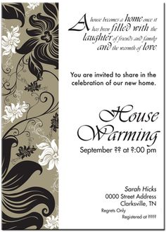 I love these house blessing invitations make a party of your sample house warming invitation sample housewarming invitations pictures stopboris