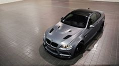 Frozen Gray BMW M3 by MM-Performance.pl
