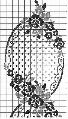 Kira scheme crochet: Scheme crochet no. Cross Stitch Rose, Cross Stitch Borders, Cross Stitch Flowers, Cross Stitch Charts, Cross Stitch Designs, Cross Stitching, Cross Stitch Embroidery, Hand Embroidery, Cross Stitch Patterns