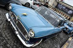#Simca #Vedette à la Traversée de #Paris hivernale 2016. Reportage complet : http://newsdanciennes.com/2016/01/10/grand-format-traversee-de-paris-hivernale-2016/ #Vintage #VintageCar #Voiture #Ancienne