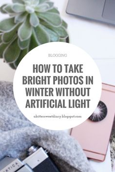 How To Take Bright Photos in Winter Without Artificial Light - Tea & Curls