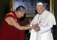 dalai lama -juan pablo II