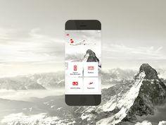 Dribbble - Swiss Mobile App by Jonas Hermann