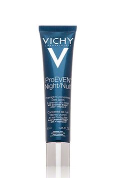You Should Be Brightening Up Your Skin-Care Routine #refinery29  http://www.refinery29.com/brightening-skin#slide3  Vichy ProEven Night This paraben-free gel formula is lightweight enough for daily use, which makes it an ideal serum for those who are struggling with acne and scarring. It lightly exfoliates the skin while you sleep, and its vitamin C and ceramides protect and brighten the skin over time.