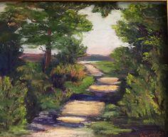 """Strollin' by Tammy Cox Pastel ~ 8"""" x 10"""""""