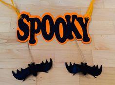 Silhouette Halloween banner Www.facebook.com/KraftyGrandma.cards