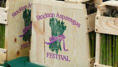 Stockton,Ca  Asparagus Festival. Still haven't tried fried asparagus though!