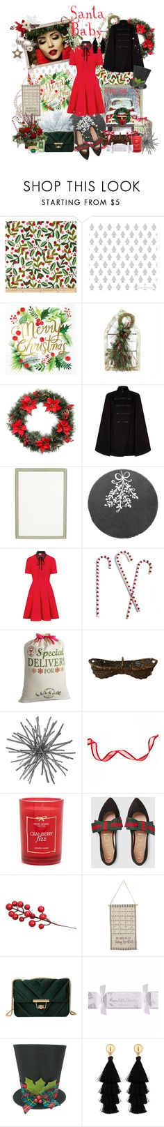 """""""A christmas kiss..."""" by forget-me-not ❤ liked on Polyvore featuring Design Design, Martha Stewart, Pierre Balmain, Haffke, Jay Import, Grandin Road, Henri Bendel, Gucci, Avenue Montaigne and Primitives By Kathy"""