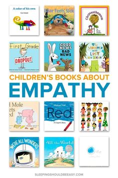 Want to raise kids with empathy for other people? Read these 12 children's books about empathy to discuss how others feel and teach your child compassion. Library Books, Children's Books, Kid Books, Library Skills, Kids Library, Baby Books, Teaching Empathy, Teaching Kindness, Teaching Kids