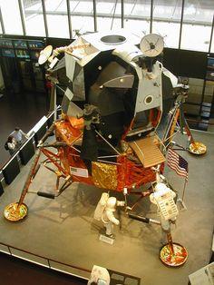 Image of Lunar Module at NASA Space Museum.