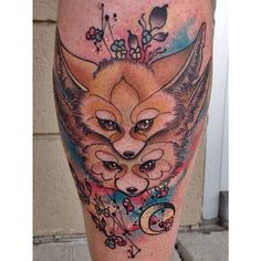 Fantastic colorful tattoos by Cody Eich