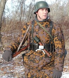 Reproduction Waffen SS camouflage