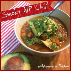 Adventures in Partaking: Smoky AIP Chili