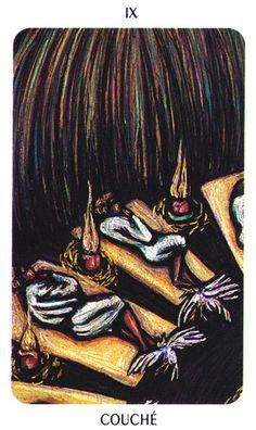 IX. The Hermit - New Orleans VooDoo Tarot by Louis Martinez